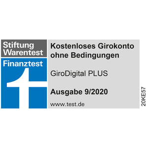 Finanztest 09/18 GiroDigital PLUS